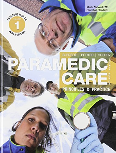 9780133136463: Paramedic Care: Principles &  Practice, Volume 1-7 Plue Workbook Volumes 1-7 Plus EMSTESTING.COM: Paramedic student