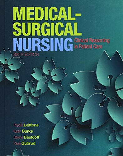 9780133139433: Medical-Surgical Nursing: Clinical Reasoning in Patient Care (Medical Surgical Nursing - Lemone)