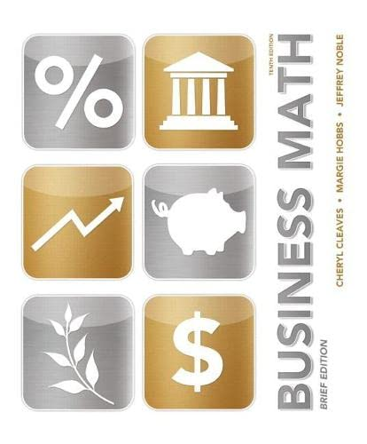 9780133140422: Business Math Brief (10th Edition)