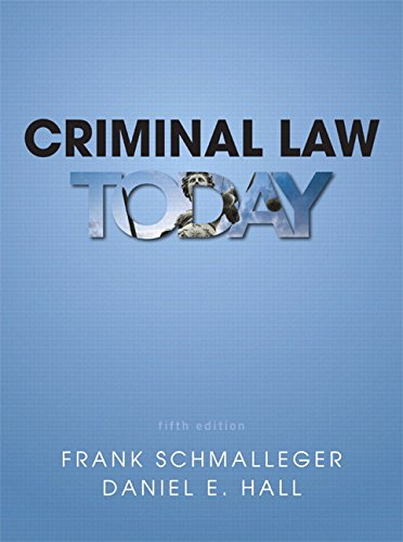 9780133140699: Criminal Law Today Plus MyLab Criminal Justice with Pearson eText -- Access Card Package (5th Edition)