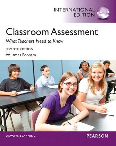 9780133141702: Classroom Assessment: What Teachers Need to Know (International Edition)