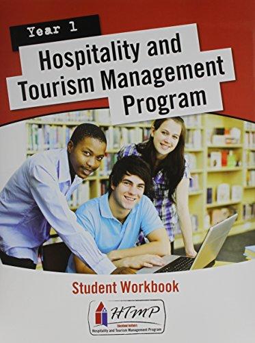 9780133141832: Hospitality & Tourism Management Program (HTMP) Year 1 Workbook Package