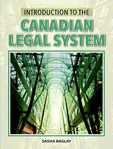 9780133142853: Introduction to the Canadian Legal System