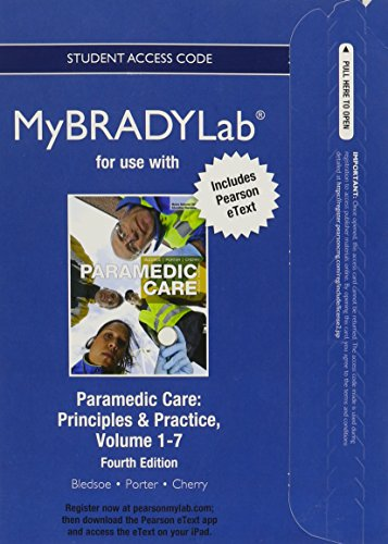 9780133142938: NEW MyBradyLab with Pearson eTexts -- Access Card -- for Paramedic Care: Volumes 1-7