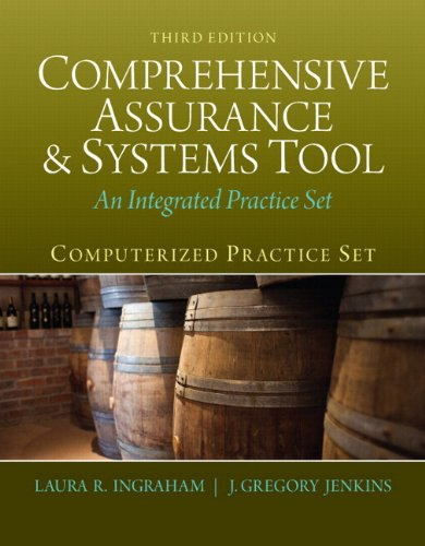 9780133143263: Computerized Practice Set for Comprehensive Assurance & Systems Tool (CAST) Plus Peachtree Complete Accounting 2012 (3rd Edition)