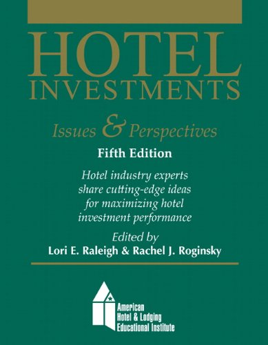 9780133144420 Hotel Investments Issues And Perspectives With