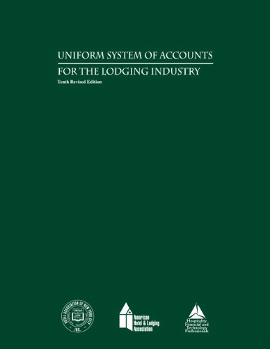 9780133144437: Uniform System of Accounts for the Lodging Industry with Answer Sheet (AHLEI) (10th Edition) (AHLEI - Hospitality Accounting / Financial Management)