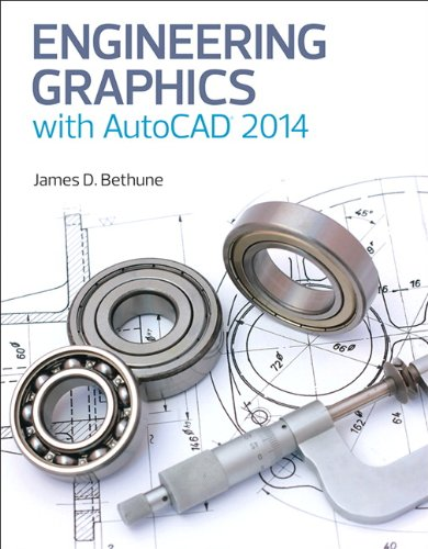 9780133144888: Engineering Graphics with AutoCAD 2014