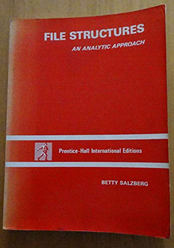 9780133145502: File Structures: An Analytic Approach