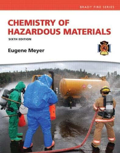 9780133146882: Chemistry of Hazardous Materials (6th Edition) (Hazardous Materials Chemistry)