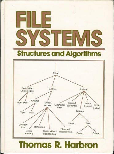 9780133147094: File Systems: Structures and Algorithms