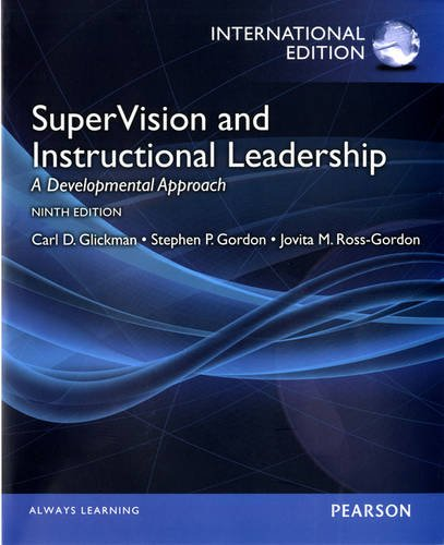 9780133147285: SuperVision and Instructional Leadership: A Developmental Approach