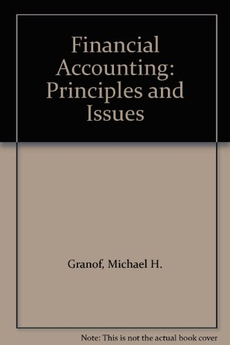 9780133147322: Financial Accounting: Principles and Issues