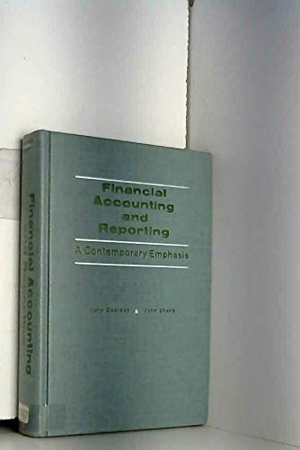 9780133147575: Financial Accounting and Reporting: A Contemporary Emphasis