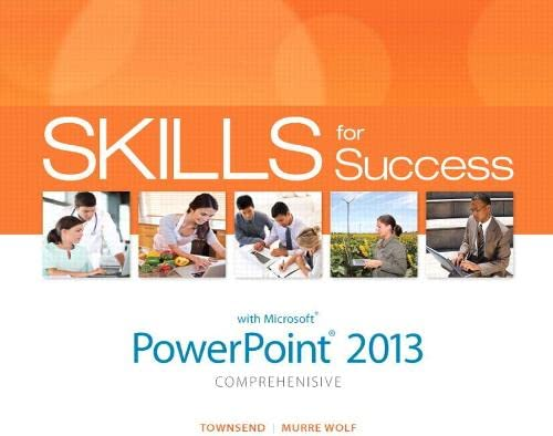 9780133148404: Skills for Success with PowerPoint 2013 Comprehensive (Skills for Success, Office 2013)
