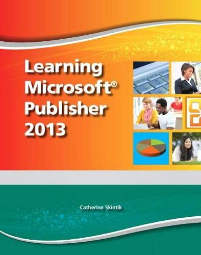 9780133148602: Learning Microsoft Publisher 2013