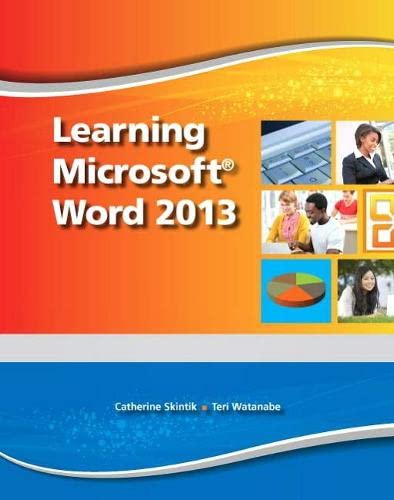 9780133149098: Learning Microsoft Word 2013, Student Edition -- CTE/School