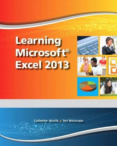9780133149104: Learning Microsoft Excel 2013, Student Edition