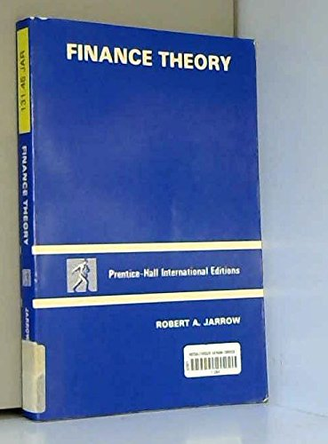 9780133149234: Finance Theory