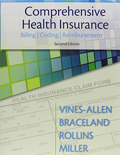 9780133151534: Comprehensive Health Insurance: Billing, Coding & Reimbursement, and Student Workbook