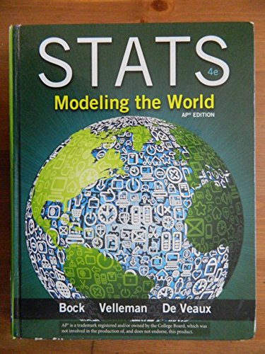 9780133151541: Stats Modeling the World, 4th Edition