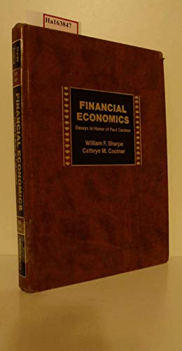 9780133152913: Financial Economics: Essays in Honor of Paul Cootner