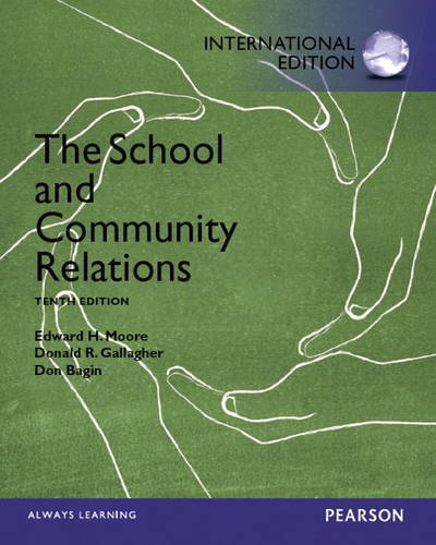 9780133154962: The School and Community Relations