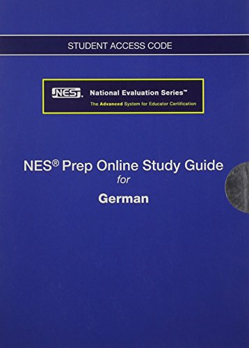 9780133155297: Online Tutorial -- Standalone Access Card -- for the National Evaluation Series German Test