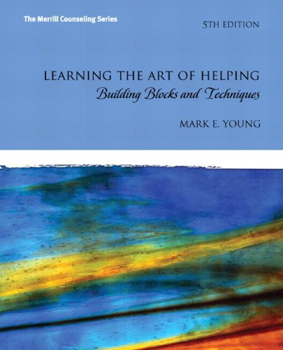 9780133155341: Learning the Art of Helping: Building Blocks and Techniques Plus MyCounselingLab with Pearson eText -- Access Card Package (5th Edition)