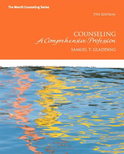 9780133155372: Counseling: A Comprehensive Profession Plus NEW MyCounselingLab with Pearson eText -- Access Card Package (Merrill Counseling)