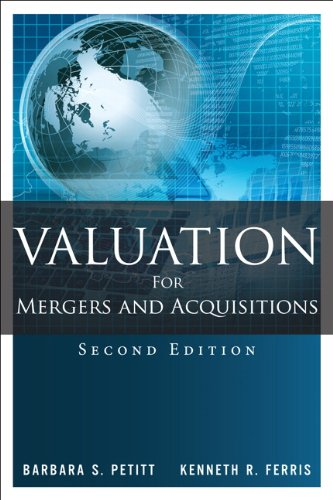 9780133157963: Valuation for Mergers and Acquisitions (2nd Edition)