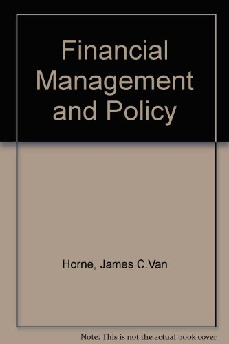 9780133158205: Financial Management and Policy