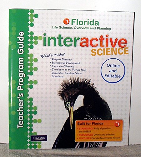 9780133159899: Teacher's Program Guide, Florida Life Science, Overview and Planning (Interactive Science)