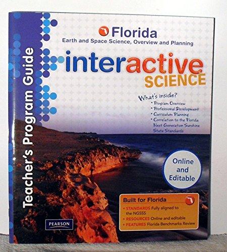 Teacher's Program Guide, Florida Earth and Space: Pearson