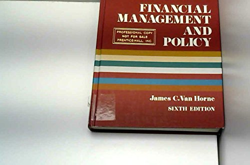 9780133160260: Financial Management and Policy