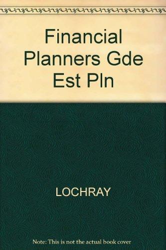 9780133160765: Financial Planners Gde Est Pln
