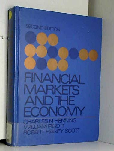 9780133160833: Financial Markets and the Economy