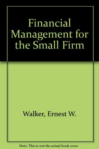 9780133160918: Financial Management for the Small Firm