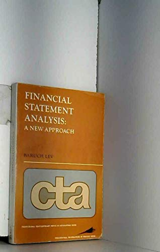 9780133162578: Financial Statement Analysis: A New Approach (Contemporary Topics in Accounting)