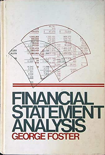 9780133162738: Financial Statement Analysis