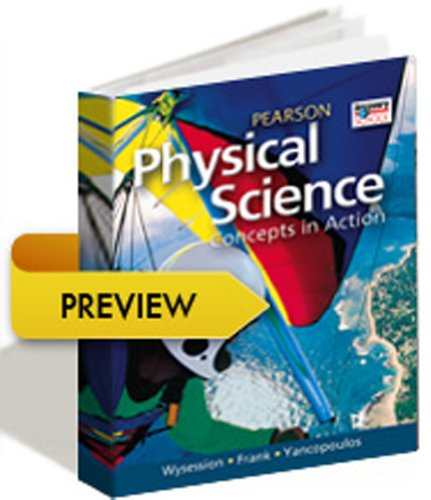 HIGH SCHOOL PHYSICAL SCIENCE 2011 STUDENT EDITION: HALL, PRENTICE