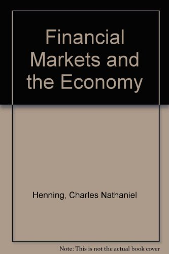 9780133164220: Financial Markets and the Economy