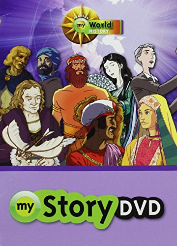 9780133165067: MIDDLE GRADES SOCIAL STUDIES 2012 HISTORY VIDEOS DVD SURVEY GRADE 5/8