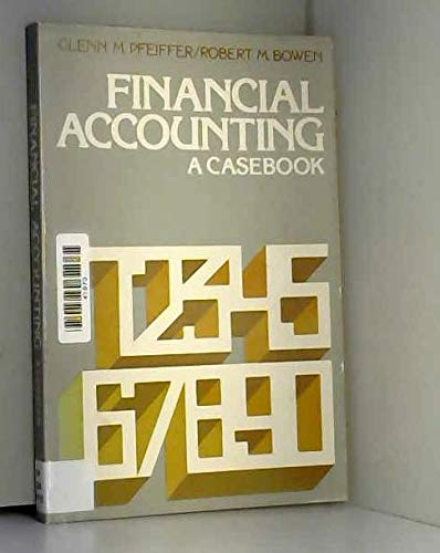 9780133166392: Financial Accounting: A Casebook