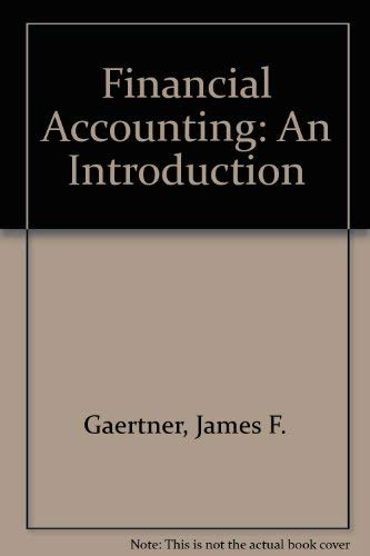 9780133166545: Financial Accounting: An Introduction