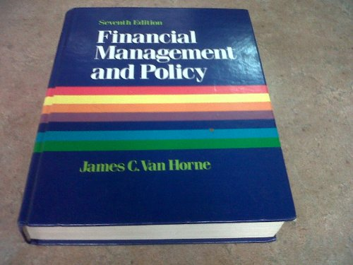 9780133167610: Financial Management and Policy