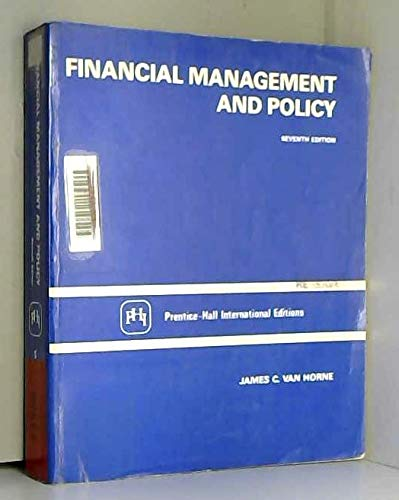 9780133168112: Financial Management and Policy