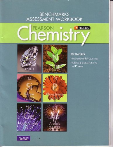 9780133168181: Pearson Chemistry for Florida Benchmarks Assessment Workbook