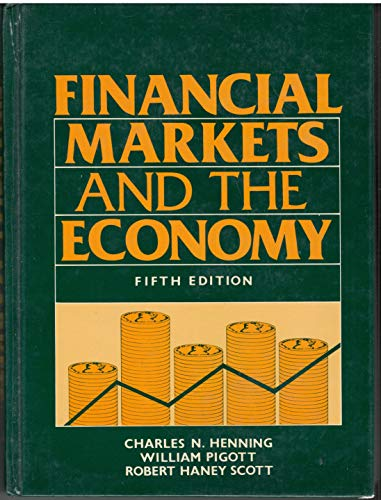 9780133168945: Financial Markets and the Economy