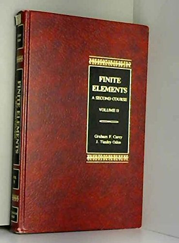 9780133170658: Finite Elements: A Second Course